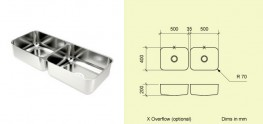 Made to Measure Combination Sinks - GEC Anderson
