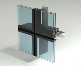 Designed for use in our Façade TB50SG system this thermally broken insert sash does not interrupt the sight lines of the curtain wall grid. Defined as being concealed this thermally broken top hung open out sash is fully tested to BS6375 and comes complete wi...