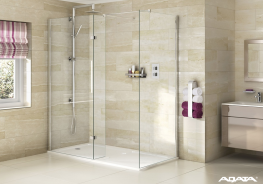 The Spectra SP425 Walk Ins is created using 8mm toughened clear glass, with slim adjustable wall profiles and beautiful polished chrome fittings. Aqata's unique shaped shower tray is designed to follow the lines of the screen and the return panel for a perfect...