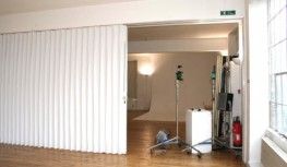 The Harmonica-in-Vinyl Concertina Partition provides the most economical solution to sub-division of areas allowing for excellent room dividers.These folding room dividers are custom made to your requirements. Room layouts can be altered with utmost speed an...