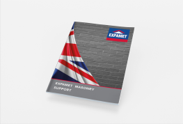 Request your copy of our new Expamet Masonry Support Brochure