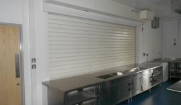 Bolton Gate Fireroll range of roller shutters is the most comprehensive available in the market. The latest addition is the Fireroll Acoustic Servery Roller Shutter which combines fire resistance with a high degree of sound reduction. In an extensive testing r...