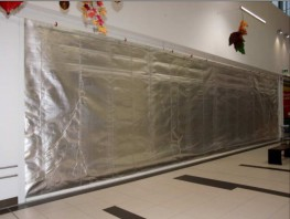 Fibreroll EW120 Rolling Fire Curtains - Bolton Gate Co