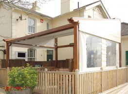 Retractable Pergolas (Pergola Awnings) image