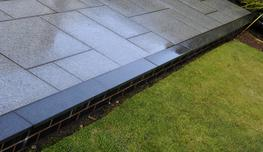 With its neat edges and consistent grey tones, Flamed Granite paving from Brett Landscaping delivers a refined look with the flamed finish giving a subtly rippled surface.   Brett Flamed Granite creates a stunning, highly contemporary looking patio.  Planks...