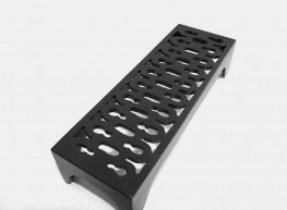 Air bricks for internal or external ventilation. Our range of airbricks are available in standard sizes and in either cast Iron or Aluminium.