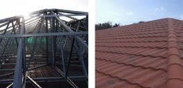Britframe and its partners products are typically suitable for converting flat roofs to pitched, and over the years have been recommended and specified on numerous projects which include:  Schools MOD Bases Industrial Religious Buildings Social Housing ...