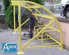 Alpha Bike Shelter image