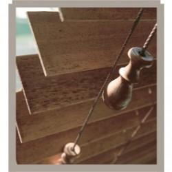 Renaissance Wooden 63mm Slat Venetian Blind image