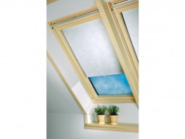 Skylight Blind out White Leaves image