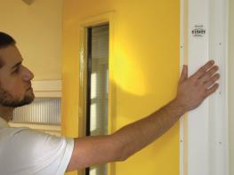 Fingershield Door Safety Finger Guard - Cardea Solutions (UK) Ltd