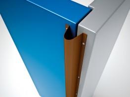 Rearshield High Grade Plastic Hinge Side Door Safety Finger Guards - Cardea Solutions (UK) Ltd