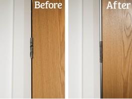 Rearshield Pro XL Finger Safety Hinge Guard For Rear of Door - Cardea Solutions (UK) Ltd