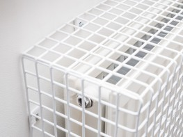 Radiator guard are wire mesh covers for radiators that prevent children and vulnerable adults from suffering burns through prolonged contact with hot radiators.