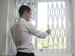 Classic Retractable Security Grilles for Windows & Doors image