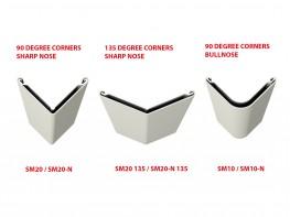 Acrovyn SM Series Corner Guards - Construction Specialties (UK) Ltd