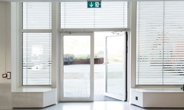 The fully automatic Powerturn swing door drive makes manual passing of the door child's play. An integrated spring ensures a safe closing of the drive in case of fire, it is once pre-tensioned and then retained in this position. Thus, fire proof doors can be...
