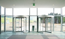 GEZE Manual Revolving Door TSA 325 NT image