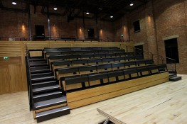 A premium, high performance, retractable (telescopic) seating system that is custom engineered to suit specific spaces and design concepts leading to flexible seating configurations. Seatway TP retractable platforms have been developed in the UK specifically f...