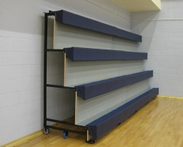 The Maxam 24 is a 'Tip and Roll' mobile, tiered seating unit that provides a simple to use, flexible seating system perfect for school halls and sports centres. Each section is rolled out from it's storage position on integral castors and easily deployed...