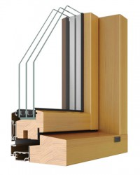 Allan Bros - Delta Combi AI Aluminium Clad Windows image
