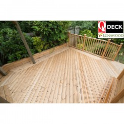 Lunawood Thermowood Decking image