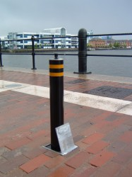 ATG Access's most popular round security bollard is the 101 670 which is insurance company recommended and easy to service. This product lends itself to garage door protection, residential and commercial security. It has been installed across many major car ...