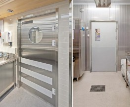 KRH Double Action Doors Stainless Steel Frame image
