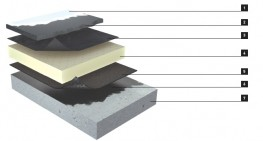 Langley PMA-20 Polymer Modified Asphalt Roofing System image
