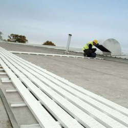 WalkSafe roof walkway systems - Single-ply membrane roofs image