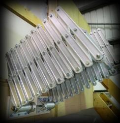 Columbus Piccolo Premium Aluminium Concertina Loft Ladder image