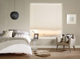 The robust Louvolite pleated and cellular lift system operates blinds, manually or motorised, up to 2m wide. Pair with Louvolite's high performance, flame retardant fabrics ranging from blackouts to temperature control. A trendy mix of colours and neutrals create a stylish collection.  The unique honeycomb structure of cellular blinds create a thermal barrier which provides additional insulation, helping keep energy costs down. Versatile, pleated blinds can be used with Louvolite Perfect Fit system, made to fit irregular shaped windows, and with Louvolite's Perfect Fit International System to a conservatory roof.  Consider our fabrics that feature coatings and treatments to help maintain comfort and productivity:  - SPC, for anti-glare. - CCT, darker fabrics that reflect more light to reduce the heat entering a room. - Pollergen, helps prevent Hayfever symptoms. - Ultra-Fresh, protection from microbial attack keeping the fabric fresher and cleaner for longer. - Greenshield.  Blind operation includes:  - Louvolite One Touch Motorisation - Chain or Cord - Twist-lock pole  All Louvolite roller systems comply with child safety regulations, are UK manufactured using prime quality materials and are 10 year life cycle tested to ensure top performance in a demanding environment.
