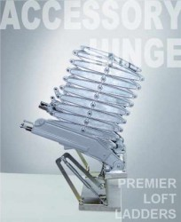 The Elite (Also known as Model B concertina loft ladder) is manufactured from the same high strength die-cast aluminium alloy components as the Supreme stairway, but instead of being supplied with a trapdoor and lining, it would be attached to a laminated wood...