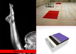 A multi-purpose sports floor providing excellent comfort and safety for training  and competition combined with very good resistance to mechanical loads.