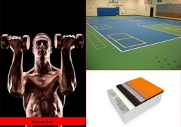 A multi-purpose sports floor providing good comfort and safety for training and competition combined with excellent resistance to mechanical loads....
