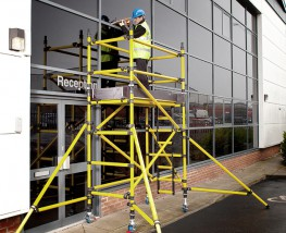 Our Prosafe Tower is the ideal solution for working at height. It's non-conductive and chemical, weather and spark resistant.