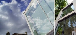 Framed glazing is the alternative to structural glazing, and uses framed panels to create a glass fa_ade. It is quicker and cheaper than structural glazing, and is capable of covering larger expanses.