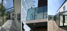 Curtain walling is a method of construction which can be used instead of structural glazing, and involves using sections of aluminium to create a skeleton for the structure; with glass bonded in between. This allows glazed facades to be quickly and simply cons...