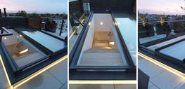 With bespoke manufacturing at your disposal, your sliding glass roof can be produced in any size you like – with numerous additional features to choose from....