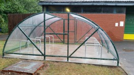 BDS 20 Space Cycle Enclosure by Bike Dock Solutions