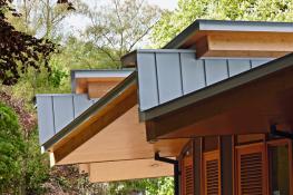 Standing Seam Zinc Roofing image