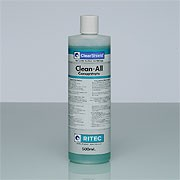 A water-based concentrate for general purpose maintenance of ClearShield-protected Glass and other surfaces. 
