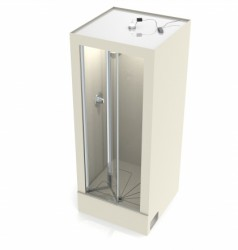 ONE PIECE DESIGNIntegral McAlpine shower waste and soap dish includedSlip-resistant embossed floorAvailable with pivot door, bi-fold door or shower curtainOptional LED lighting and extraction can be providedShower fitments to suitDimensions:750mm(w) x ...