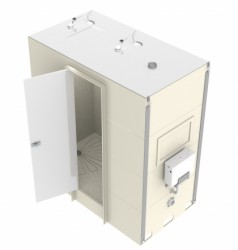 SECTIONAL DESIGNAlternative sizes availableIntegral shower waste, soap dish and doorShower fitments, lighting, sanitary ware and extraction to suitDimensions:2000(w) x 900(d) x 2250(h)...
