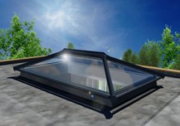 Installed on a new build extension, Orangery, or inserted into an existing flat roof, an UltraSky roof light will help you add the feeling of space and natural light to your home.