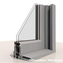 Royale Aluminium Sash Windows image