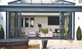 Our Continental folding doors create an open, flexible, modern space for both living and working environments. They where designed with the input of Belgium expertise, as well as our own extensive experience in bifold doors. We believe that this system is one ...