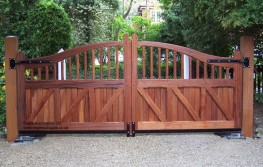 Eagle Wooden Electric Gate EAGHG010 image