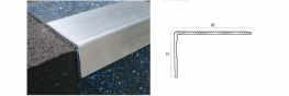 Genesis NRA profile is a strong well designed, innovative Aluminium profile designed to provide a simple, safe secure edge for steps covered in ceramic tiles or similar.The profile sits on top of the floor covering providing a perfect step edge with a groove...