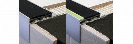 This Heavy Duty Aluminium Tile-In Nosing offers a cost effective alternative to ceramic treads. The PVC insert on the tread has been designed to provide additional slip resistance. Although mainly used with ceramic tile it can also be used with wood, laminate ...